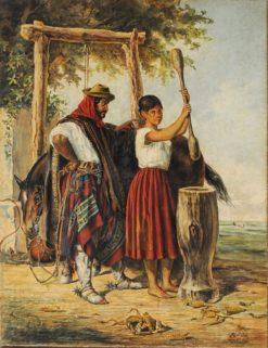 The Corn Stepper | Jean Leon Pallière | Oil Painting