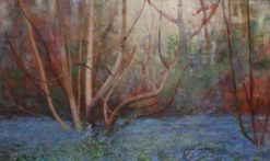 Bluebells | Benjamin Haughton | Oil Painting