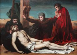 Deposition from the Cross | Jean Leon Pallière | Oil Painting
