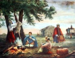 La Posta de San Luis | Jean Leon Pallière | Oil Painting