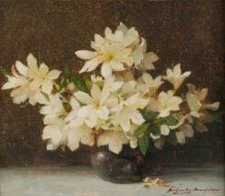 Christmas Roses | Benjamin Haughton | Oil Painting