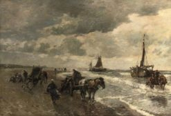 A day at the beach | Gregor von Bochmann | Oil Painting
