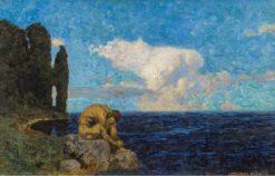 Odysseus' Homesickness | Alexander Rothaug | Oil Painting