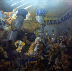 Samson's Revenge | Alexander Rothaug | Oil Painting