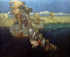 The fruits of the sea | Alexander Rothaug | Oil Painting