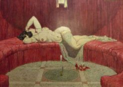 Cleopatra | Alexander Rothaug | Oil Painting