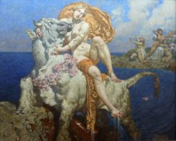 The Rape of Europa   Alexander Rothaug   Oil Painting