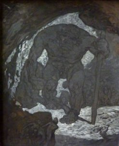Cyclop Polyphem | Alexander Rothaug | Oil Painting