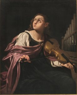 St. Cecilia | Lorenzo Pasinelli | Oil Painting
