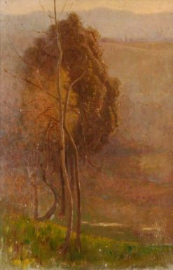 Dead and Live Tree | Benjamin Haughton | Oil Painting