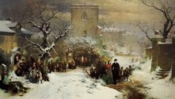 Christmas Day | John Ritchie | Oil Painting