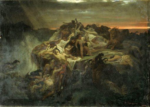 The Flood | Vasily Petrovich Vereshchagin | Oil Painting