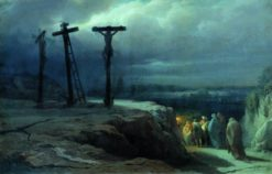 Calvary | Vasily Petrovich Vereshchagin | Oil Painting