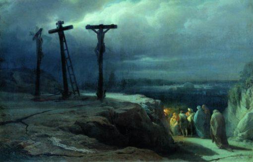 Calvary | Vasily Petrovich Vereshchagin | Oil Painting