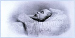 Poet Taras Shevchenko at His Deathbed | Vasily Petrovich Vereshchagin | Oil Painting