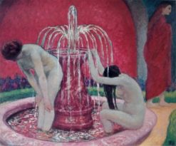 The Fountain | Rupert Bunny | Oil Painting