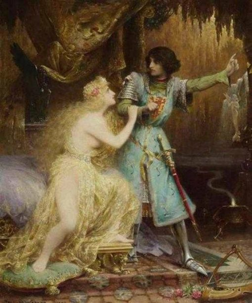 Tannhauser au Venusberg | Jacques Clement Wagrez | Oil Painting