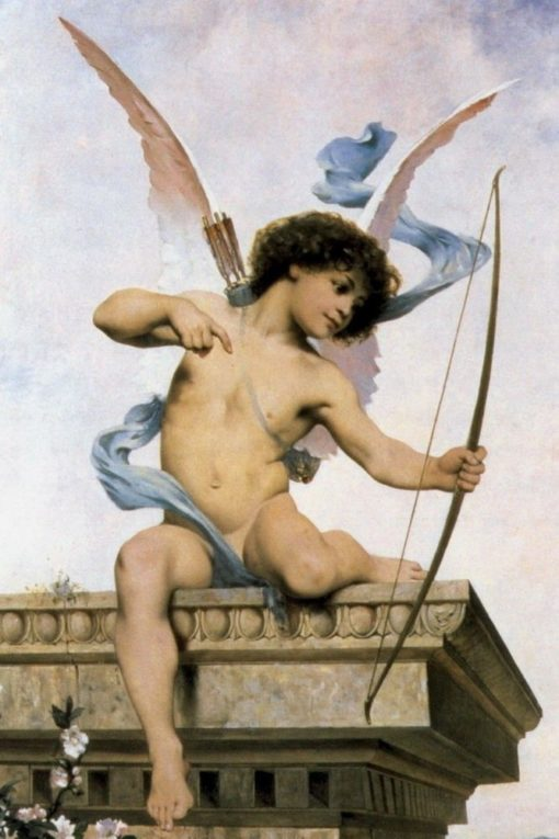 Cupid | Jacques Clement Wagrez | Oil Painting