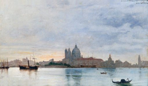 View of Venice | Jacques Clement Wagrez | Oil Painting