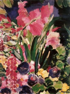 Gladioli   János Vaszary   Oil Painting