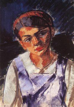 Girl   János Vaszary   Oil Painting