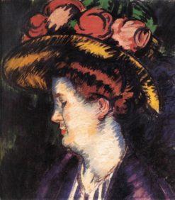 The Artist's Wife | János Vaszary | Oil Painting