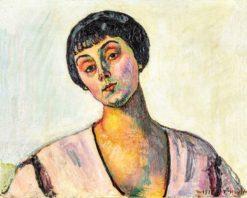 Portrait of Jeanne Amélie Günzburger-Malan | Ferdinand Hodler | Oil Painting