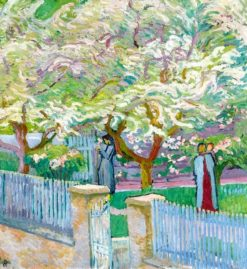 Garden in Spring | Giovanni Giacometti | Oil Painting