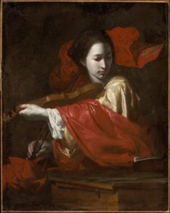 Saint Cecilia | Bernardo Cavallino | Oil Painting