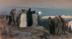 Flevit Super Illam | Enrique Simonet Lombardo | Oil Painting