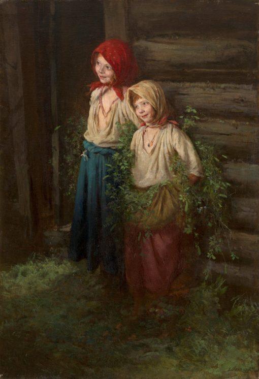 Little Schemers | Karl Lemokh | Oil Painting