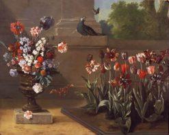 Corner of Monsieur de la Bruyere's Garden | Jean-Baptiste Oudry | Oil Painting