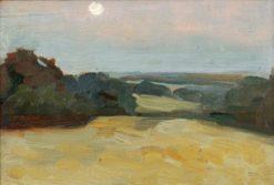 Italian Countryside   Benjamin Haughton   Oil Painting