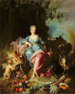 Abundance | Jean-Baptiste Oudry | Oil Painting