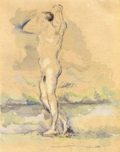Bagther (also known as Baigneur)   Paul Cézanne   Oil Painting