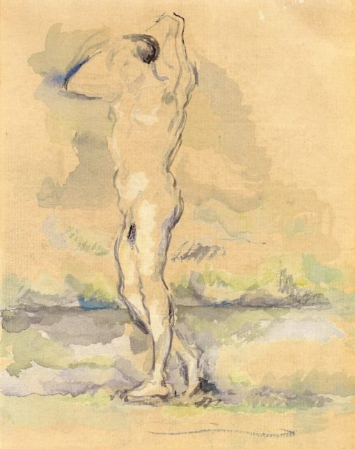 Bagther (also known as Baigneur) | Paul Cézanne | Oil Painting