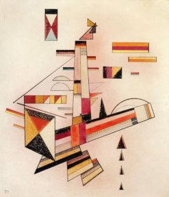 Certainly (also known as Bestimmt) | Wassily Kandinsky | Oil Painting