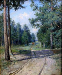 Forest Road | Nikolai Klodt | Oil Painting
