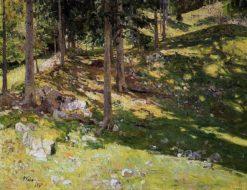 Sunny Forest | Nikolai Klodt | Oil Painting