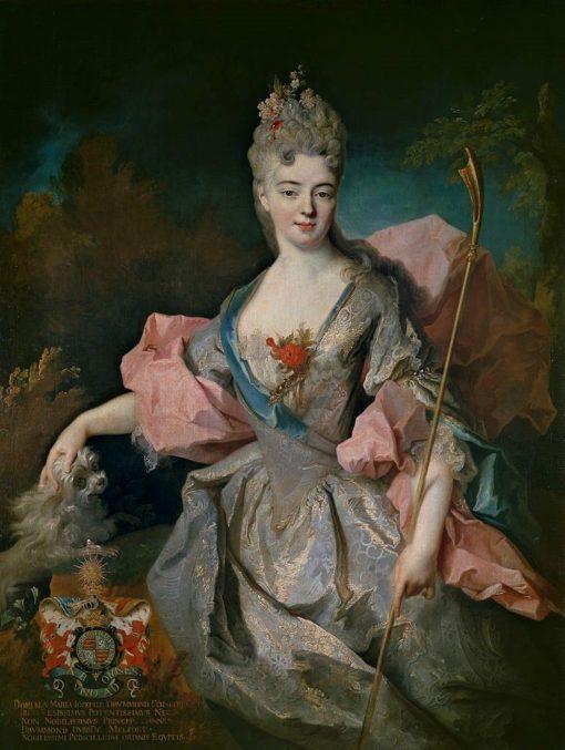 Portrait of Maria Josefa Drummond | Jean-Baptiste Oudry | Oil Painting