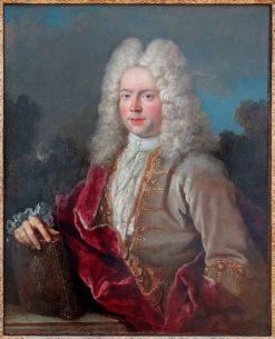 Portrait d'un contrôleur des guerres | Jean-Baptiste Oudry | Oil Painting