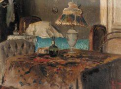 Interior | Ilya Ostroukhov | Oil Painting