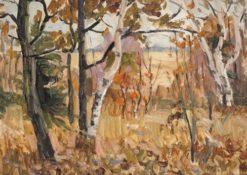 Autumn | Ilya Ostroukhov | Oil Painting