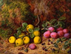 Still Life of Yellow Apples