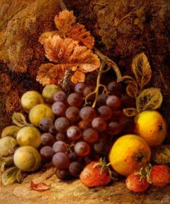Still Life of Fruit | George Clare | Oil Painting