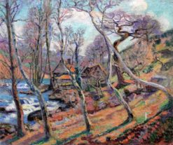 The Bouchardon Mill | Armand Guillaumin | Oil Painting