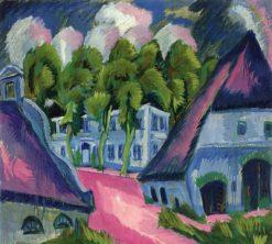 Gut Staberhof III   Ernst Ludwig Kirchner   Oil Painting