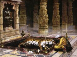 Honoring the Tiger | Rudolf Ernst | Oil Painting