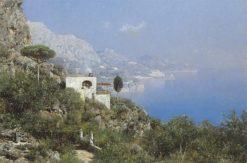 A View of Capri | Edmund Berninger | Oil Painting