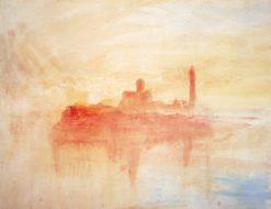 San Giorgio Maggiore at Sunset | Joseph Mallord William Turner | Oil Painting